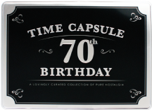 70th Birthday Time Capsule